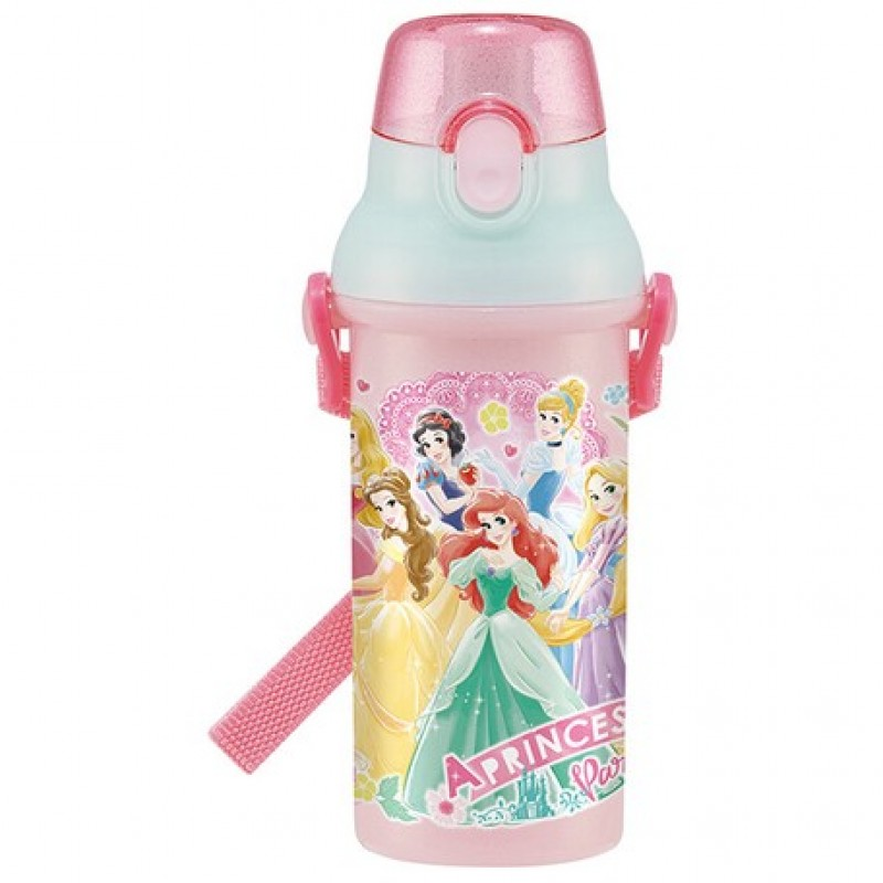Back to School: Princess One touch bottle 480ml + Placemat
