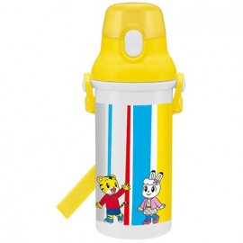 Back to School: Shimajiro 21 One touch bottle 480ml + Placemat