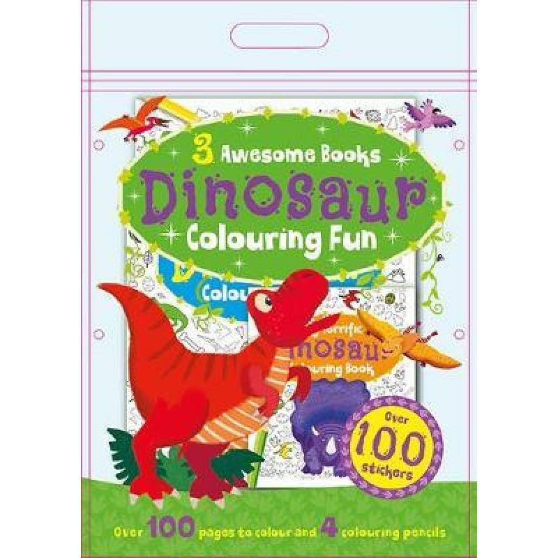 Dinosaur Colouring Fun