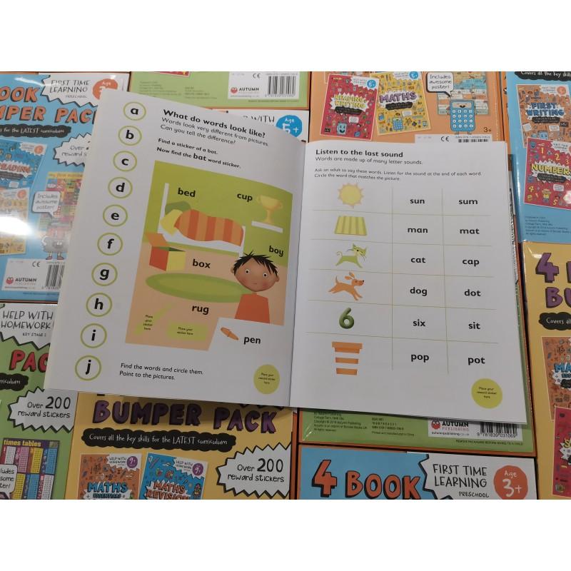 Essential Workbooks Packs 3+ with Flag Encyclopedia pencils (2B) 12 pcs