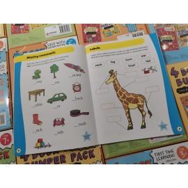 Essential Workbooks Packs 5+ with Flag Encyclopedia pencils (2B) 12 pcs