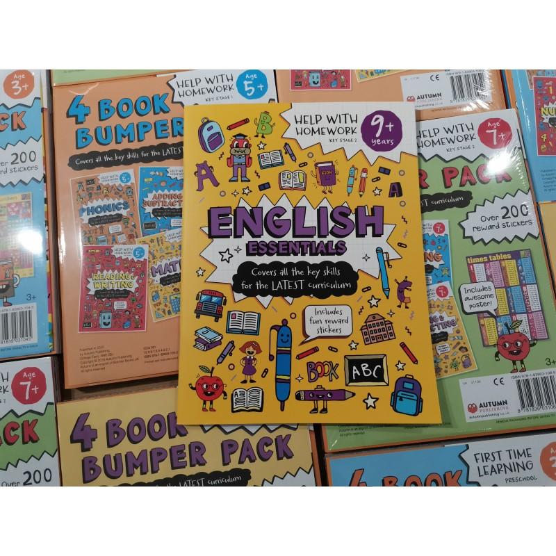 Essential Workbooks Packs 9+ with Mizuno pencil Case