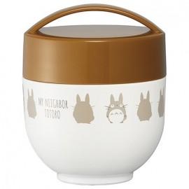 My Neighbor Totoro (silhouette) Ultra-lightweight compact heat-retaining bowl lunch jar 540ml