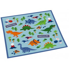 Back to School: DINOSAURS One touch bottle 480ml + Placemat
