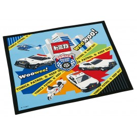 Back to School: Tomica 21 One touch bottle 480ml + Placemat