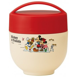 Mickey Mouse Ultra-lightweight warm bento bowl 540ml