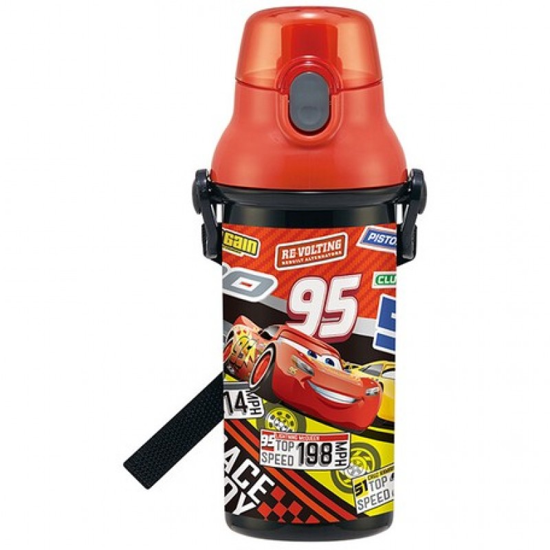 Back to School: Cars One touch bottle 480ml + Placemat
