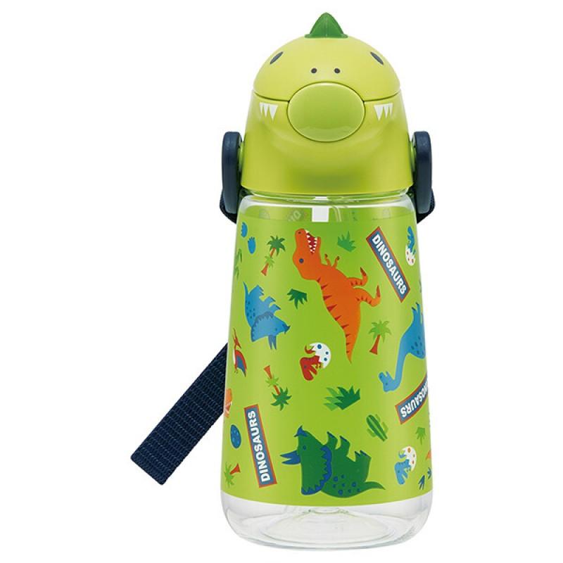 Dinosaur shaped water bottle 420ml