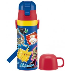Pokemon Super light 2WAY  stainless steel Thermal flask