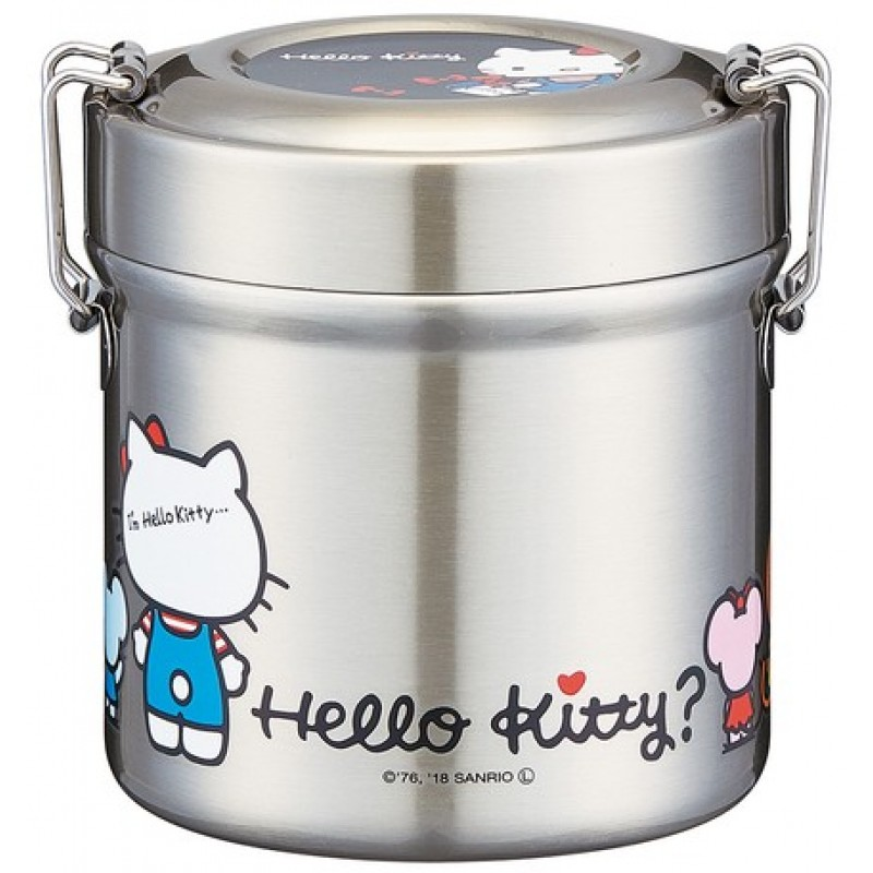 Hello Kitty Vacuum stainless steel bento box 480ml